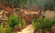 Công trình điêu khắc đất sét ở Đà Lạt