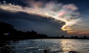 Những buổi chiều rực rỡ ở hồ Tây