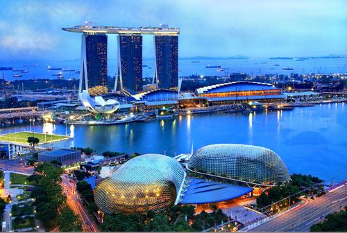 SINGAPORE - CÔNG VIÊN SƯ TỬ BIỂN 3N2Đ